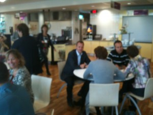 Open Coffee Houten 10 oktober 2012 bij Arval