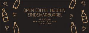 open coffee houten eindejaarsborrel